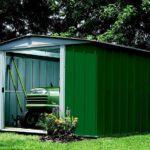 מחסן גינה ירוק